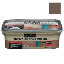 Schlafzimmer Farbe Lagune Profitan Wandfarbe Trend Akzent Color Kakaobaum Matt 2 5 Liter