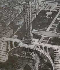 a 1936 project for making the 2nd floor of the eiffel tower