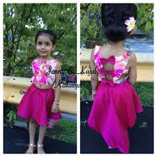 for little girls low and high skirt and crop top clothing by