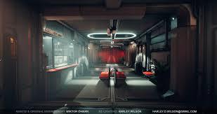 corridor lighting ue4 lighting wiktor u0027s deus ex corridor re lit u2014 polycount