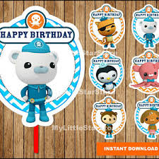 octonauts party supplies octonauts party etsy