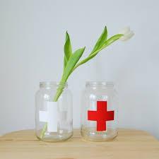 jar vase diy upcycled jar vase northstory