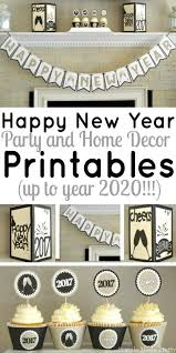 happy new year printable package celebrations and holidays