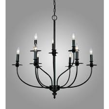Hampton Bay 9 Light Chandelier Westmore Lighting Spades 29 In 9 Light Oil Rubbed Bronze Candle
