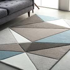 Modern Geometric Rugs Teal Living Room Rug Modern Geometric Carved Teal Gray Area