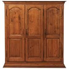 Door Armoire Antique Door Armoire Wardrobe Or Cabinet With Iron Banding For