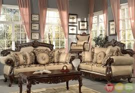 antique style living room furniture formal antique style luxury sofa love seat chenille living room