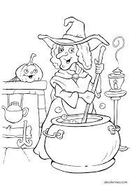 imagenes de halloween para imprimir y colorear brujas de halloween para imprimir y pintar colorear imágenes