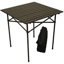 Tall Patio Tables Amazon Com Table In A Bag Ta2727 Tall Aluminum Portable Table