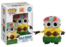 Minion Desk Accessories by Despicable Me 2 Hula Minion Funko Pop Movies Amazon Co Uk