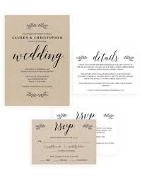 wedding invitation sets wedding invitation suites papersizzle