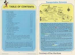 Walt Disney World Transportation Map by Gorillas Don U0027t Blog Wdw Guide 1979 Part 1