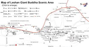 Ancient China Map Sichuan Maps Cities Attractions Streets