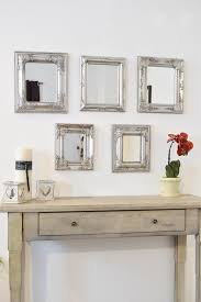 marvelous decoration set of mirrors for wall luxury idea 25 best