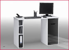 bureau ordinateur angle bureau bureau informatique blanc laqué bureau laqué noir