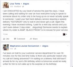 argos customers u0027 fury at delays to black friday 2015 deliveries
