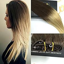 micro weft extensions micro bead weft ez easy weft 12 width brown to