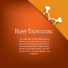 thanksgiving card vector design with traditional turkey eps10