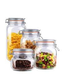 glass kitchen canisters sets home basics 4 piece glass canister set linens n things