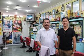 three old barber shops in singapore