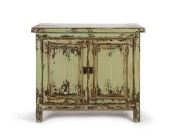 Vintage Sideboard Green Wooden Sideboard Oriental Style Furniture Puji Home