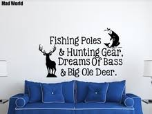 Hunting And Fishing Home Decor Hunting Wall Promotion Shop For Promotional Hunting Wall On