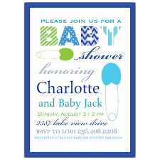 clothespin baby shower clothespin blue baby shower invitations paperstyle