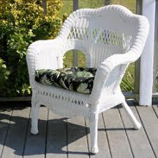 White Wicker Outdoor Patio Furniture White Wicker Patio Chairs Home Design Ideas
