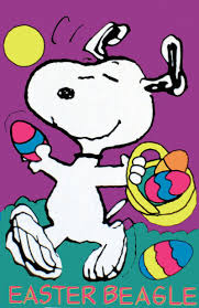peanuts happy thanksgiving snoopy easter easter beagle snoopy flag spring easter