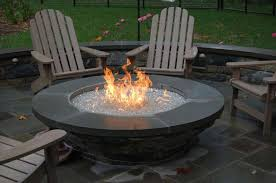 Gas Fire Pit Ring by Hairy Four Person Cast Aluminum Patio Conversation Set Wire