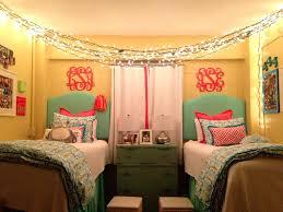 Bedside Shelf Dorm Bedroom Pretty Design Ideas Of College Dorm With Wooden Bed