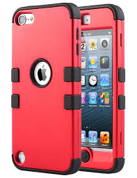 ipod touch 6 black friday ulak hybrid dual layer hybrid shockproof cover case silicon hard
