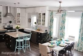 colorful vintage industrial kitchen hometalk