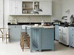 what color appliances with blue cabinets 75 beautiful kitchen with blue cabinets and white appliances
