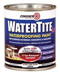 rust oleum 5024 watertite latex qt house paint amazon com