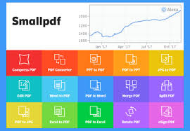 Small Pdf Zurich Based Startup Smallpdf Operates One Of The 900 Most Visited