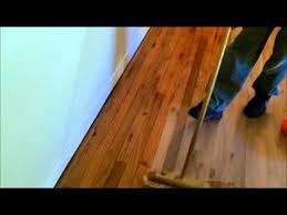 Hardwood Floor Restoration Red Oak Solid Wood Floor Restoration Full Project Youtube