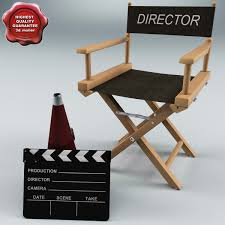 The Directors Chair On The Set Director U0027s Chair 3d Models Turbosquid Com