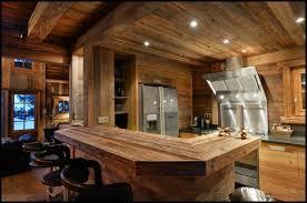 amenagement cuisine studio montagne décoration intérieur chalet montagne 50 idées inspirantes