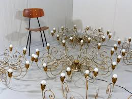 What Is Chandelier Large Vintage Italian Hollywood Regency Style Chandelier For Sale