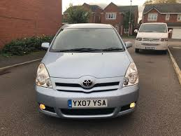 2007 toyota corolla verso 2 2 d4d t3 6 speed manual 7 seater f s h