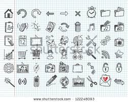 sketch icons stock images royalty free images u0026 vectors