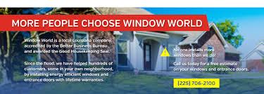 baton rouge replacement windows u0026 doors window world baton rouge