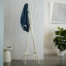 spindle coat rack