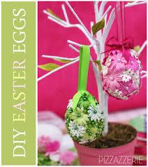 easter egg trees tutorial diy flower easter eggs pizzazzerie