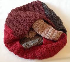 cowl scarf quick crochet pattern red velvet caron cakes yarn