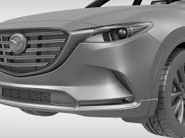 mazda car models 2016 mazda cx 9 2016 3d model cgtrader