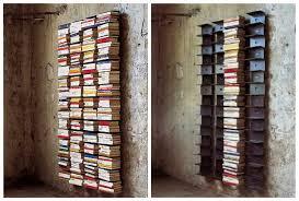 Wall Bookcase Design Lover Rainaldi U0027s Ptolomeo Wall Bookcase