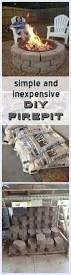 Backyard Firepit Ideas Best 25 Backyard Fire Pits Ideas On Pinterest Fire Pits