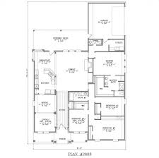 single level floor plans corner lot side load garage house plans